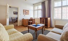 Pronájem zařízeného bytu 3+kk, Praha 2 Vinohrady